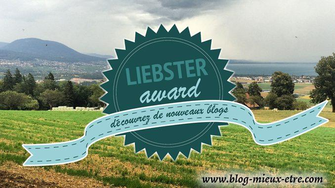 bue Liebster Award