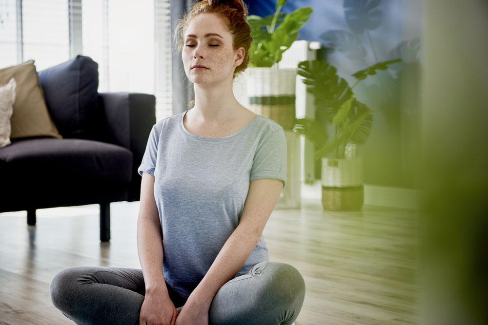 meditation exercise done at home 59SLKX6