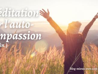 Méditation d'auto-compassion