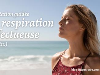 Méditation respiration affectueuse
